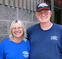Owners Kent and Cathy Kundert